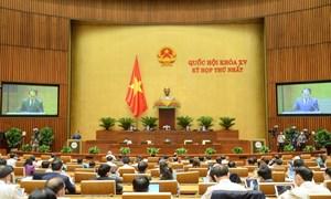 Quốc hội thống nhất dự kiến Chương trình xây dựng luật, pháp lệnh năm 2022