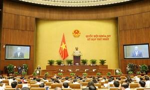 Bế mạc ngày 28/7, Kỳ họp thứ nhất sẽ rút ngắn 3 ngày so với chương trình