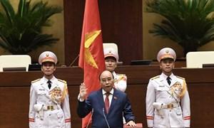 Ông Nguyễn Xuân Phúc được tín nhiệm bầu giữ chức Chủ tịch Nước nhiệm kỳ 2021-2026