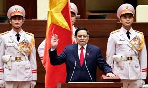 Thủ tướng Chính phủ nhiệm kỳ 2021-2026 Phạm Minh Chính tuyên thệ nhận chức