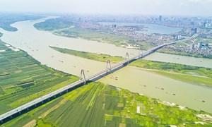 Quy hoạch sông Hồng: Tận dụng đê hiện có làm hai tuyến đường ven sông