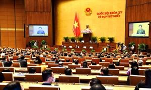 Quốc hội bế mạc, biểu quyết thông qua Nghị quyết kỳ họp thứ nhất
