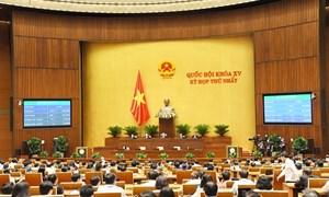 Quyết nghị của Quốc hội về các Nghị quyết kinh tế - xã hội, ngân sách nhà nước