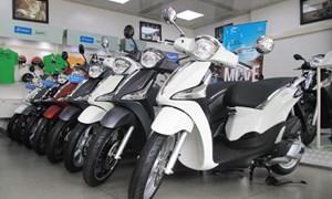 Xe máy bán chậm, nhiều hãng giảm giá