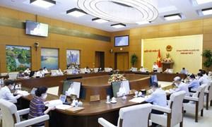 Ủy ban Thường vụ Quốc hội họp phiên thường kỳ đầu tiên của nhiệm kỳ Quốc hội khóa XV