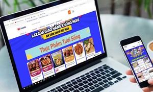 Kinh doanh thực phẩm trên sàn thương mại điện tử: Cú hích từ dịch Covid-19