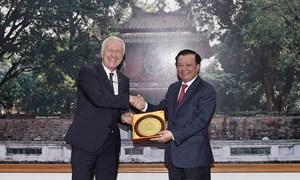 Thúc đẩy hơn nữa quan hệ hợp tác trong lĩnh vực tài chính giữa Việt Nam và Thụy Sỹ