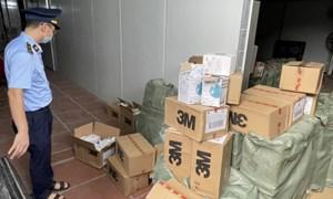 Hà Nội: Thu giữ hàng chục nghìn khẩu trang có dấu hiệu giả mạo nhãn hiệu