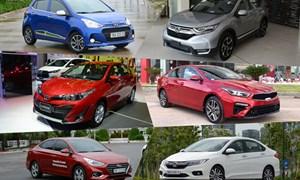 Top 10 ôtô bán chạy tháng 8: Toyota Vios dẫn đầu, Mitsubishi Expander tăng 5 bậc