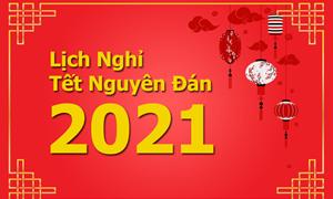 Đề xuất hai phương án nghỉ Tết Âm lịch Tân Sửu 2021