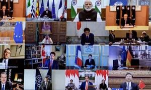 G20 cam kết chung tay vực dậy nền kinh tế hậu Covid-19