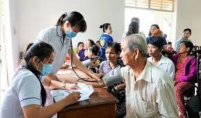 95% người cao tuổi có thẻ bảo hiểm y tế
