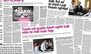 TP. Hồ Chí Minh ngừng cấp phép nghề tư vấn pháp luật