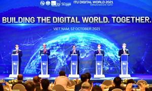 Thủ tướng Chính phủ tham dự khai mạc Hội nghị và Triển lãm thế giới số 2021