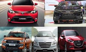 [Infographics] Top 10 ôtô bán chạy tháng 9: Mitsubishi Xpander 'bám đuổi' Toyota Vios