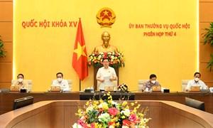 Ủy ban Thường vụ Quốc hội bế mạc Phiên họp thường kỳ thứ 4, hoàn thành chương trình đề ra