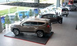 Thị trường ôtô sụt giảm kỷ lục