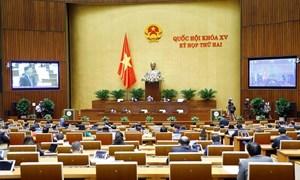 Quốc hội thảo luận dự án Luật Cảnh sát cơ động; sửa đổi, bổ sung Luật Sở hữu trí tuệ