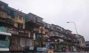 Cải tạo chung cư cũ: Gắn chặt với chính sách quy hoạch