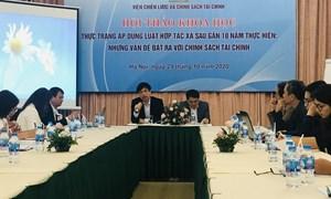 Tiếp tục hoàn thiện chính sách tài chính hỗ trợ hợp tác xã phát triển