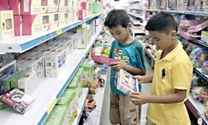 Nhiễu loạn thị trường đồ dùng trẻ em