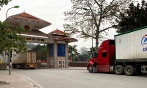 Lưu ý mới về đưa hàng qua cửa khẩu Trung Quốc