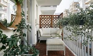 Cách bố trí ban công để giúp ngôi nhà trông rộng hơn
