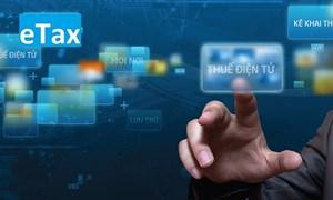 63 tỉnh, thành phố đã triển khai hệ thống dịch vụ thuế điện tử eTax