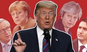 Áp thuế mới, ông Trump đẩy đồng minh vào tay Trung Quốc?