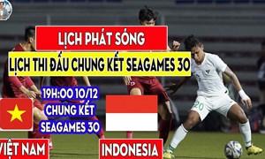 """[Infographics] Chung kết SEA Games 30: Long tranh hổ đấu, """"kẻ tám lạng, người nửa cân"""""""