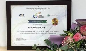 Tập đoàn Bảo Việt: Top 10 doanh nghiệp bền vững nhất Việt Nam 5 năm liên tiếp