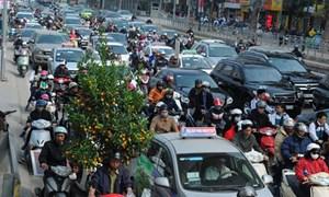 Bảo đảm trật tự, an toàn giao thông cho nhân dân vui đón Tết