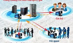 Đề xuất chính sách mới về kết nối và chia sẻ thông tin theo cơ chế một cửa quốc gia