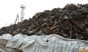 Kiểm soát chặt nhập khẩu sắt, thép phế liệu