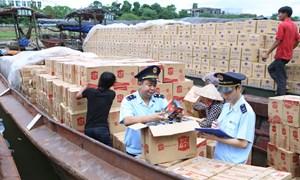 Cảnh báo lợi dụng phân luồng để buôn lậu, gian lận thương mại