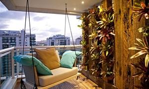 Ý tưởng thiết kế ban công đẹp mắt cho nhà chung cư
