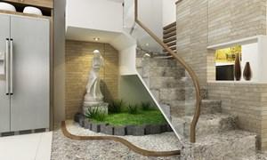 Làm đẹp nội thất nhà bằng đá tự nhiên