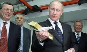 Mỹ giữ 8000 tấn vàng, Nga tăng mua vẫn tụt xa