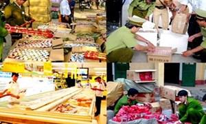 Hà Nội: Khởi tố hình sự hơn 60 vụ buôn lậu, gian lận thương mại
