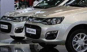 Người Việt chi 66,9 triệu USD mua ôtô Nga