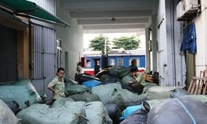 Bắt giữ hàng trăm kiện hàng nghi nhập lậu trên tàu SE19