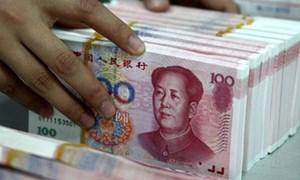Nhân dân tệ thu hẹp mức giảm trong tháng 10 nhờ USD suy yếu