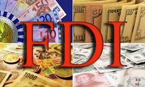 10 tháng đầu năm: Thu hút FDI bằng 91,3% cùng kỳ 2015
