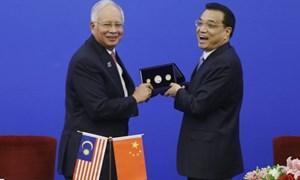 Malaysia và Trung Quốc ký 14 thỏa thuận hợp tác trị giá 21 tỷ USD