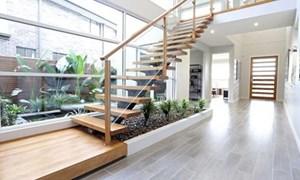 Biến khoảng đất thừa thành vườn xinh xắn trong nhà