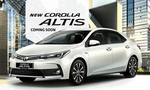 Cận cảnh chiếc ô tô giá rẻ Toyota Altis 2017 vừa được ra mắt