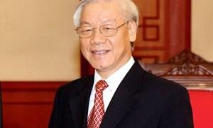 Tổng Bí thư Nguyễn Phú Trọng thăm hữu nghị chính thức Cộng hòa Dân chủ Nhân dân Lào