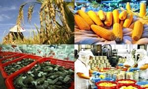 Xuất siêu 6,95 tỷ USD nông lâm thủy sản