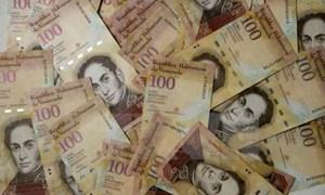 Venezuela thay 100 bolivar bằng mệnh giá lớn hơn đối phó thiếu hụt tiền mặt