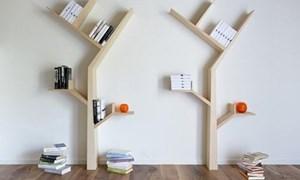 Những chiếc kệ sách với thiết kế tuyệt đẹp
